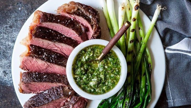 Sous Vide Steak Chimichurri