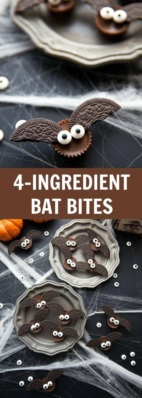 4 Ingredient Bat Bites