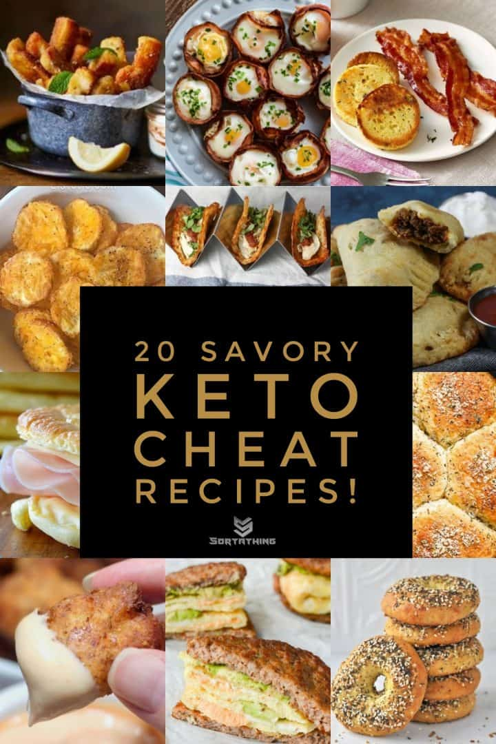 20 Savory Keto Cheat Recipes Display