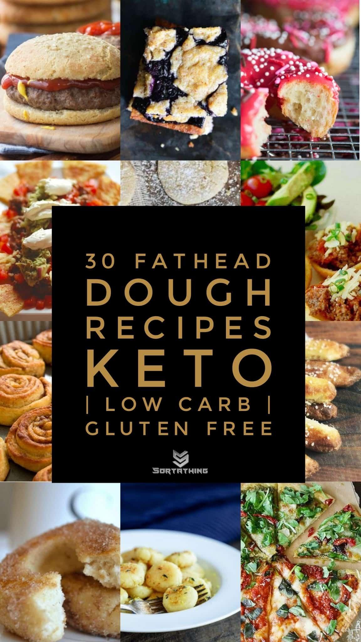 30 Fathead Dough Recipes - Keto