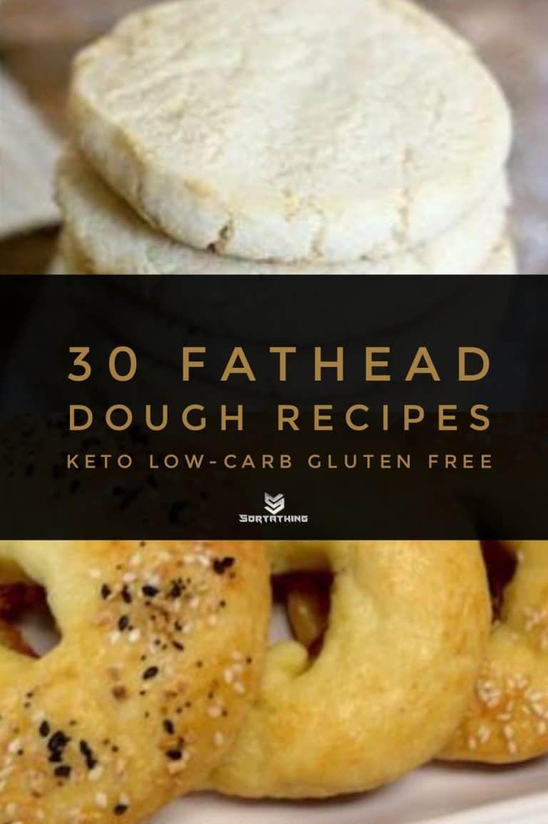 Keto-Approved Sugar Cookies & Fathead Dough Bagels
