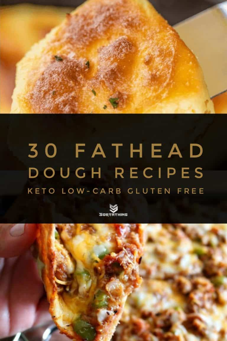 Cheesy Keto Biscuits & Fathead Pulled Pork Pizza