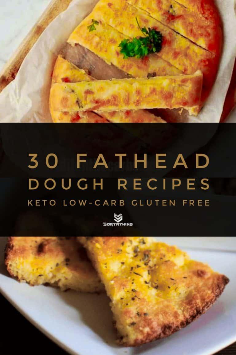 Keto Garlic Bread & Fathead Focaccia