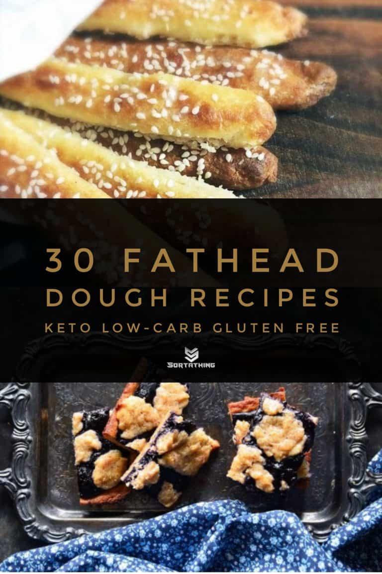 Fathead Breadsticks & Blueberry Cobbler