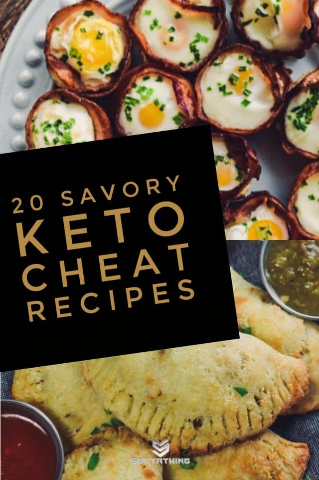 Bacon & Egg Cups and Keto Low Carb Beef Empanadas