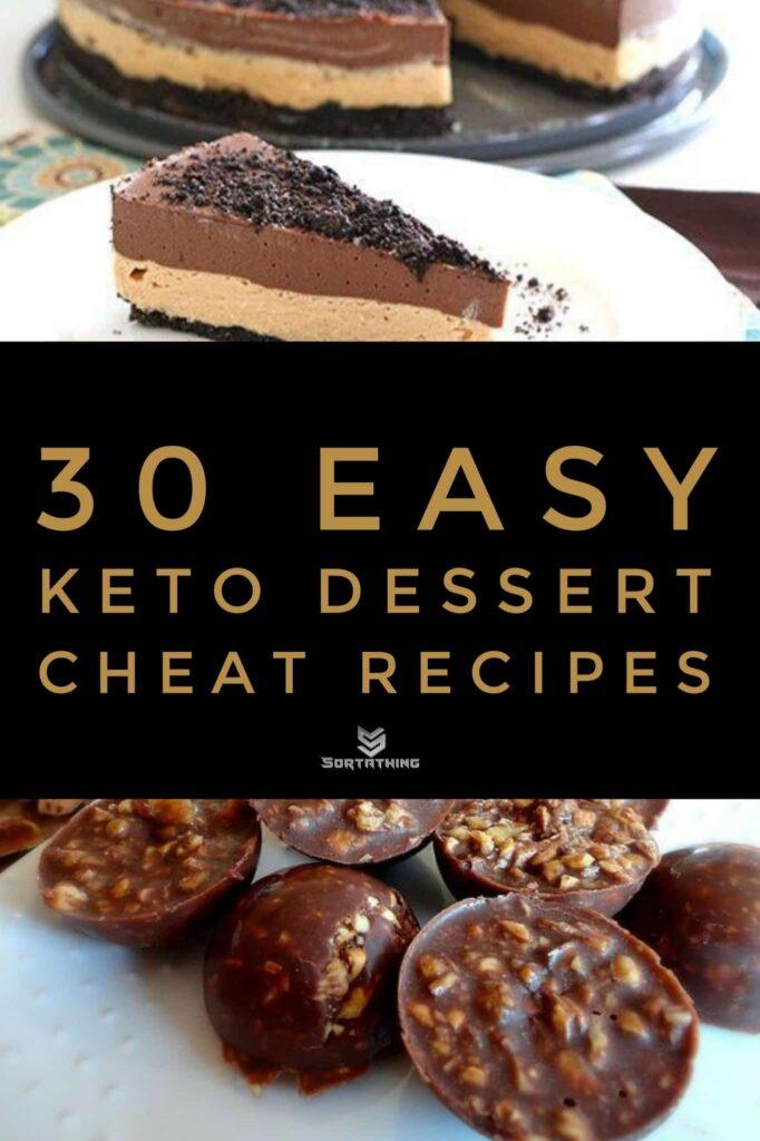 Keto Chocolate Peanut Butter Dirt Cake