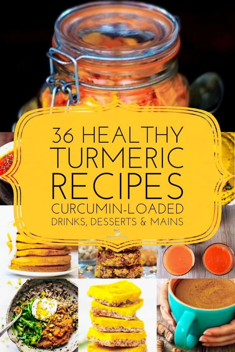 36 Healthy Turmeric Recipes