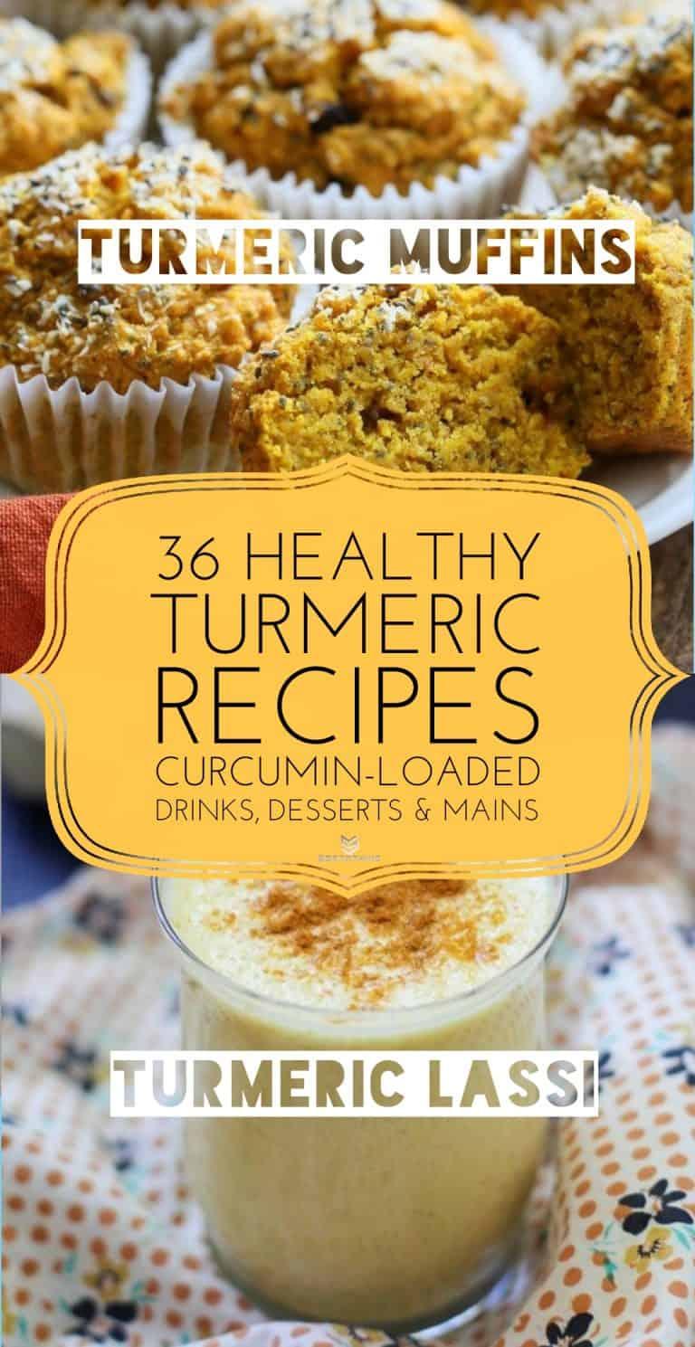 Turmeric Muffins & Turmeric Lassi