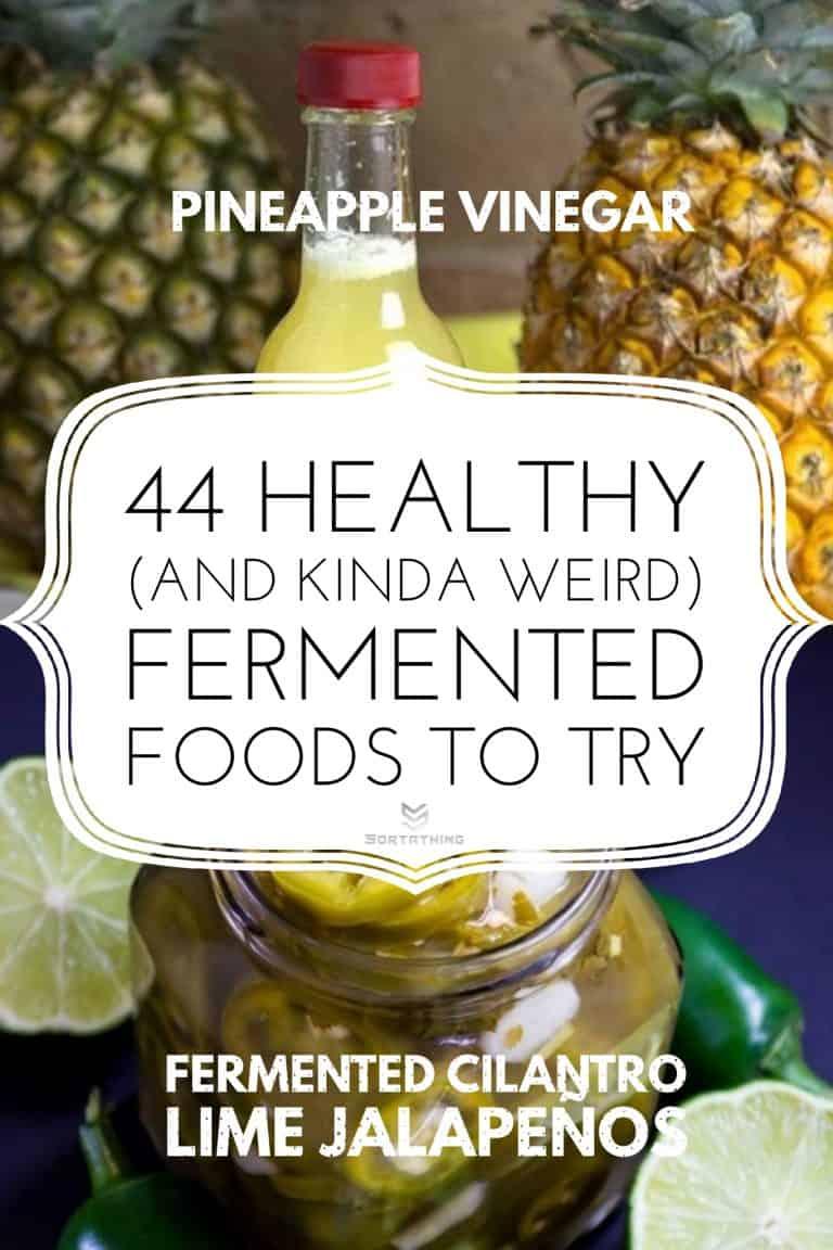 Pineapple vinegar & Fermented Jalapenos