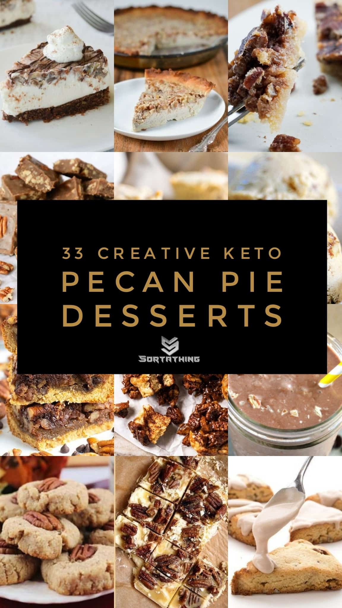 33 Creative Keto Pecan Pie Dessert Recipes