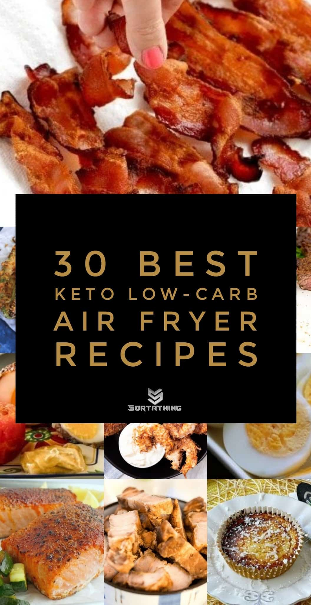 33 Best Keto Low-Carb Air Fryer Recipes Main
