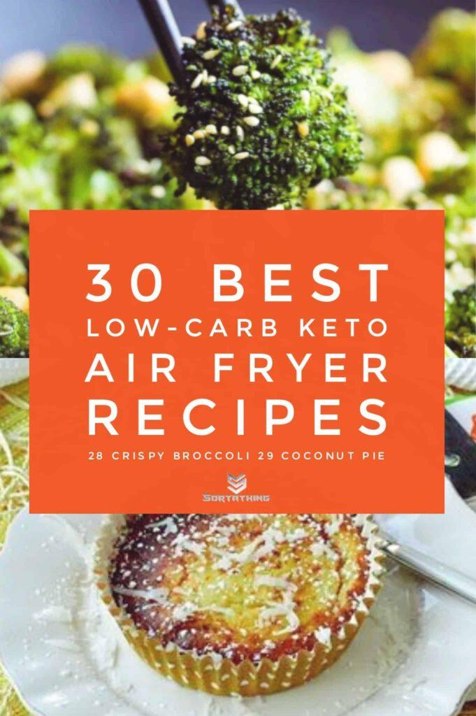 Crispy Roased Broccoli & Air Fryer Coconut Pie