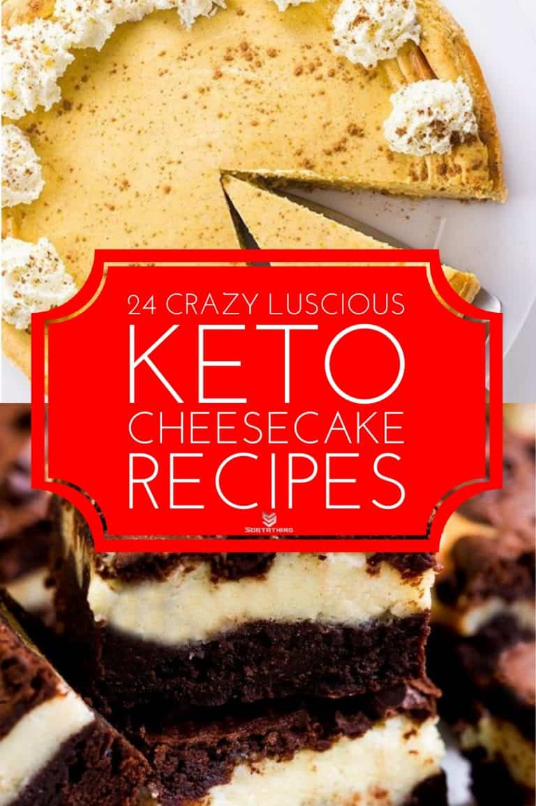Low Carb Keto Pumpkin Cheesecake & Keto Cheesecake Stuffed Brownies