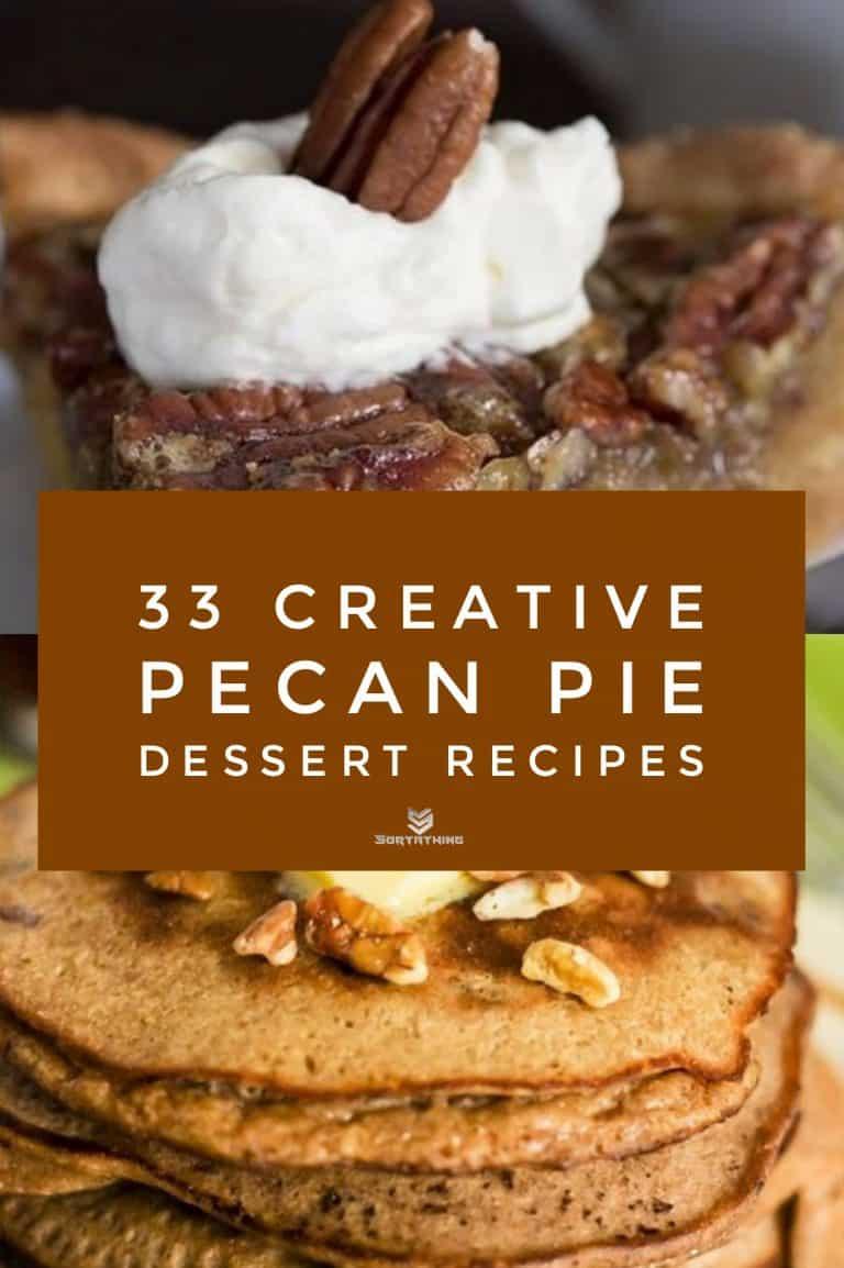 The Best Keto Pecan Pie & Coconut Flour Cinnamon Pecan Pancakes