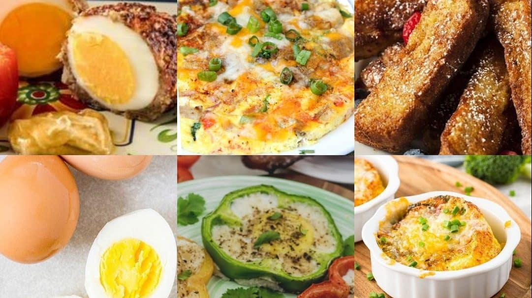 Egg Air Fryer Recipes