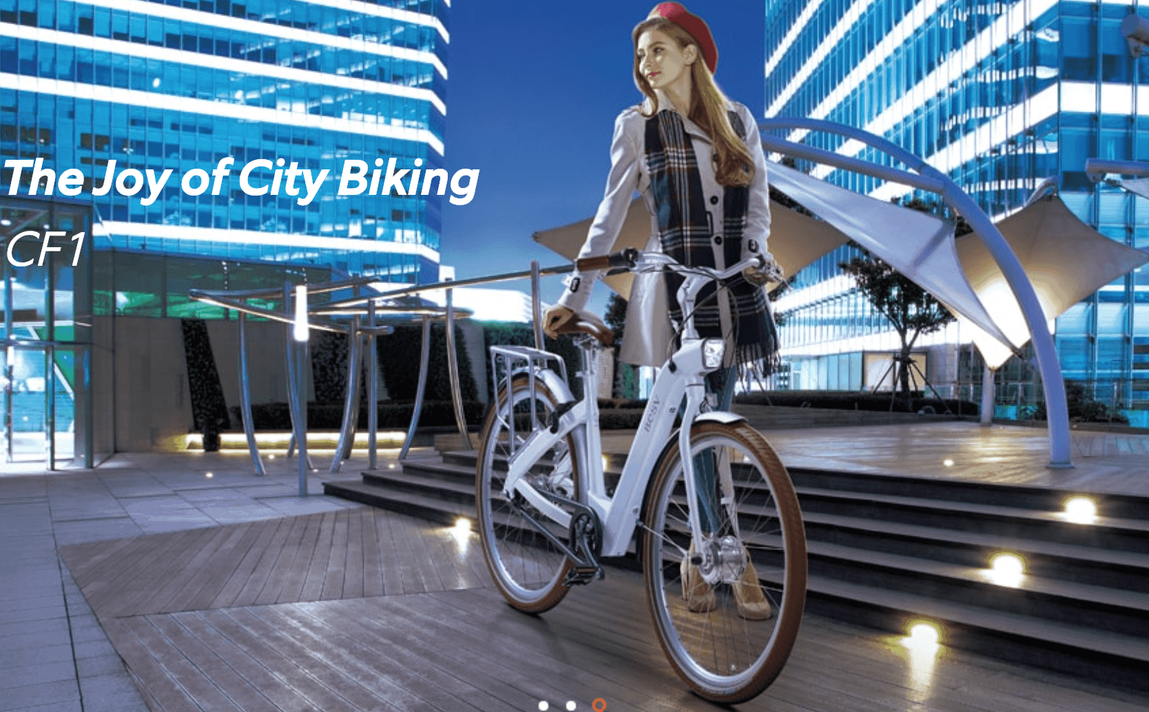 why do people ride electric bikes?