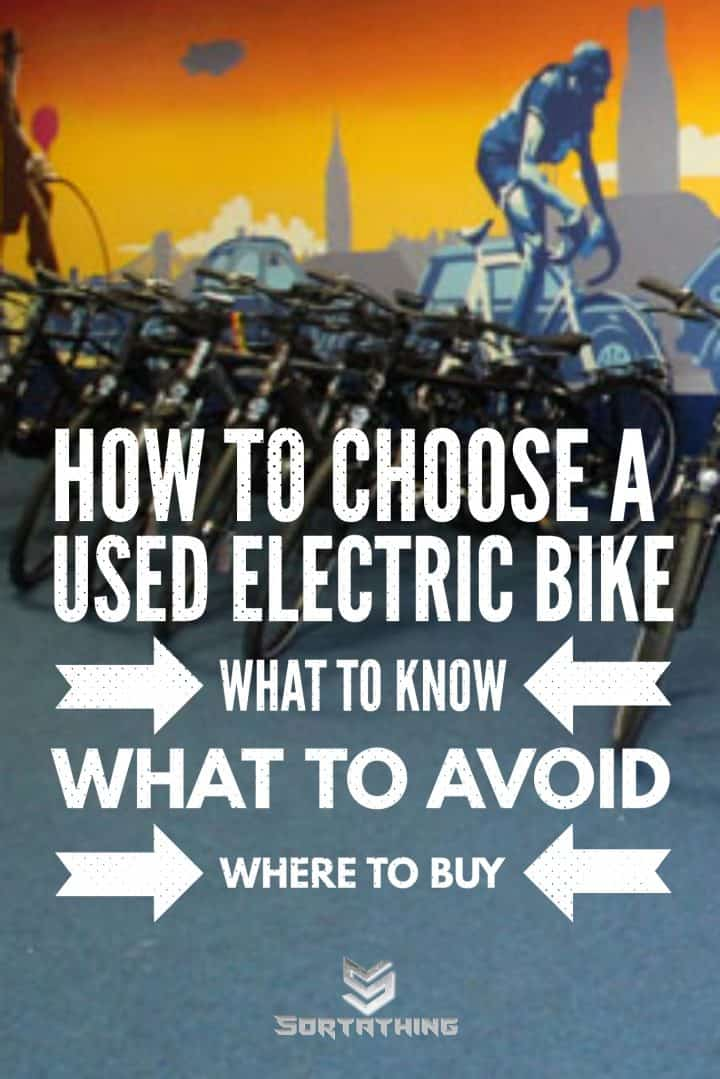 How to choose a used electric bike