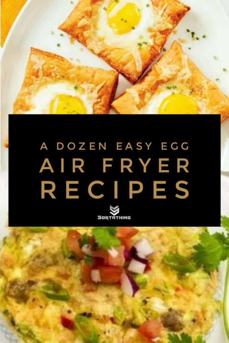 Air Fryer Puffed Egg Tarts & Air-Fried Frittata