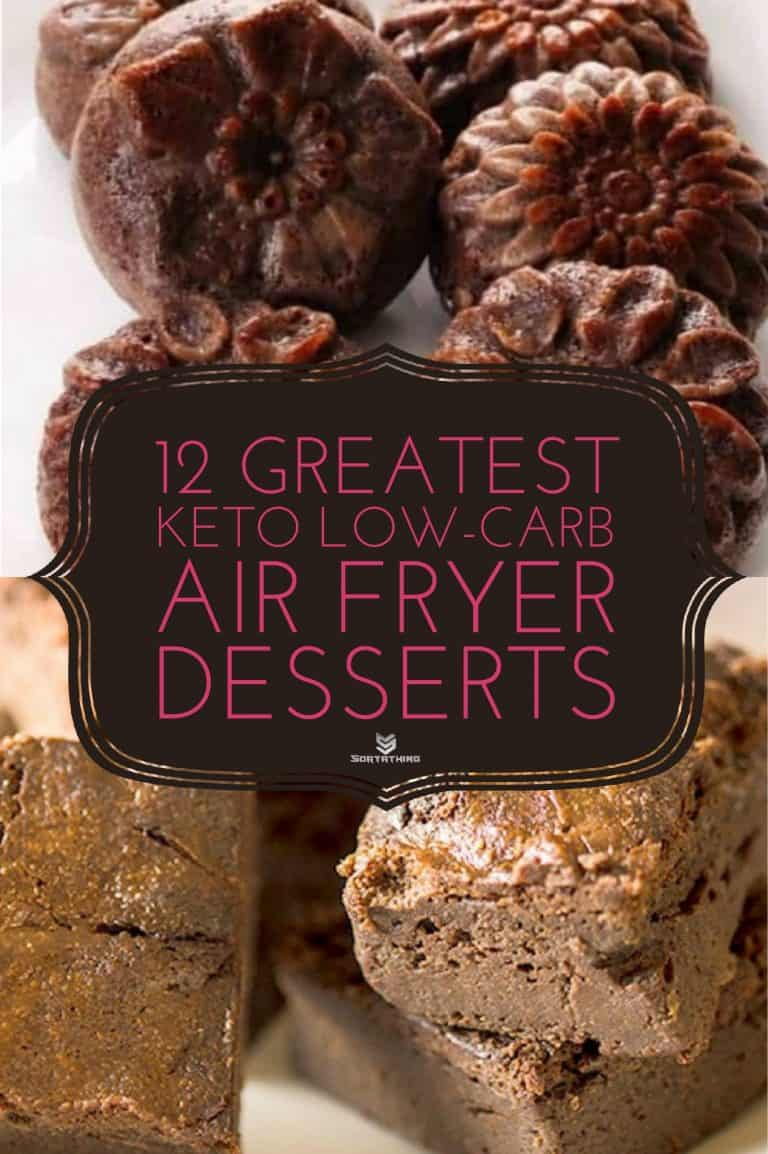 Nut-Free, Keto, Low Carb Keto Chocolate Cake & Keto, Low-Carb, Gluten-Free Flourless Chocolate Brownies