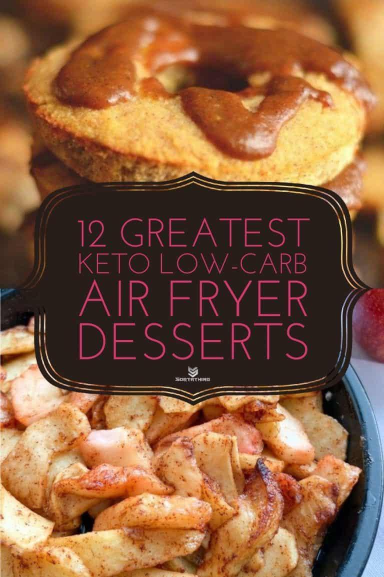 Paleo Apple Cider Vinegar Donuts & Air-Fried Spiced Apples