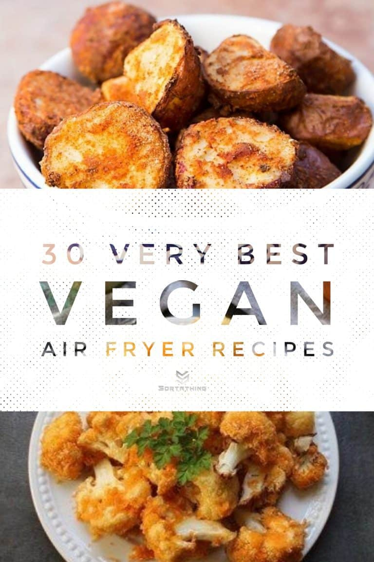 30 Very Best Vegan Air Fryer Recipes for 2020 3 - Sortathing Food & Health