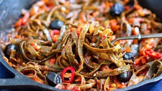 20 Low Carb Pasta Recipes - Seaweed Pasta