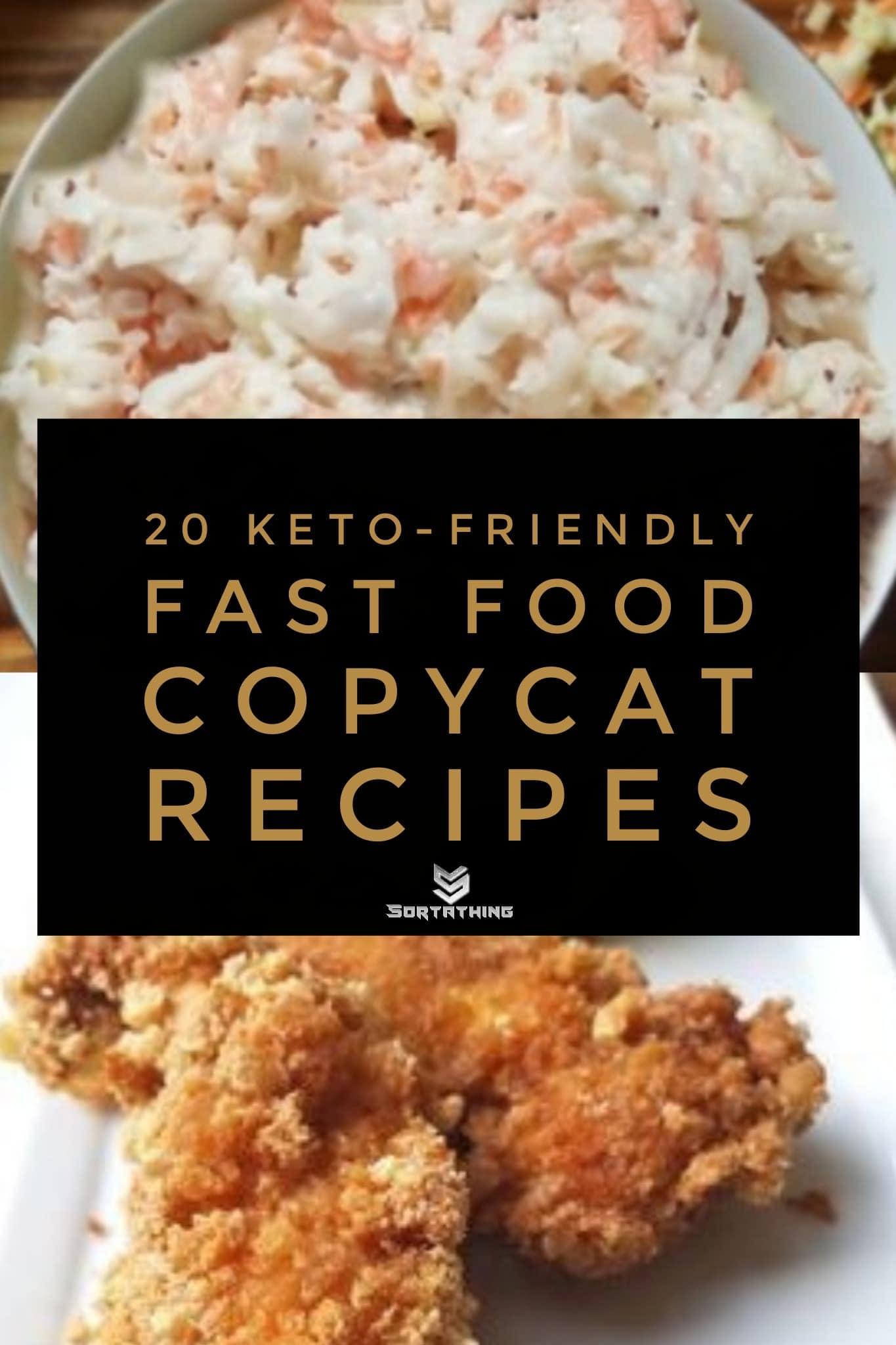 Keto KFC Copycat Coleslaw & Chick-Fil-A Tenders