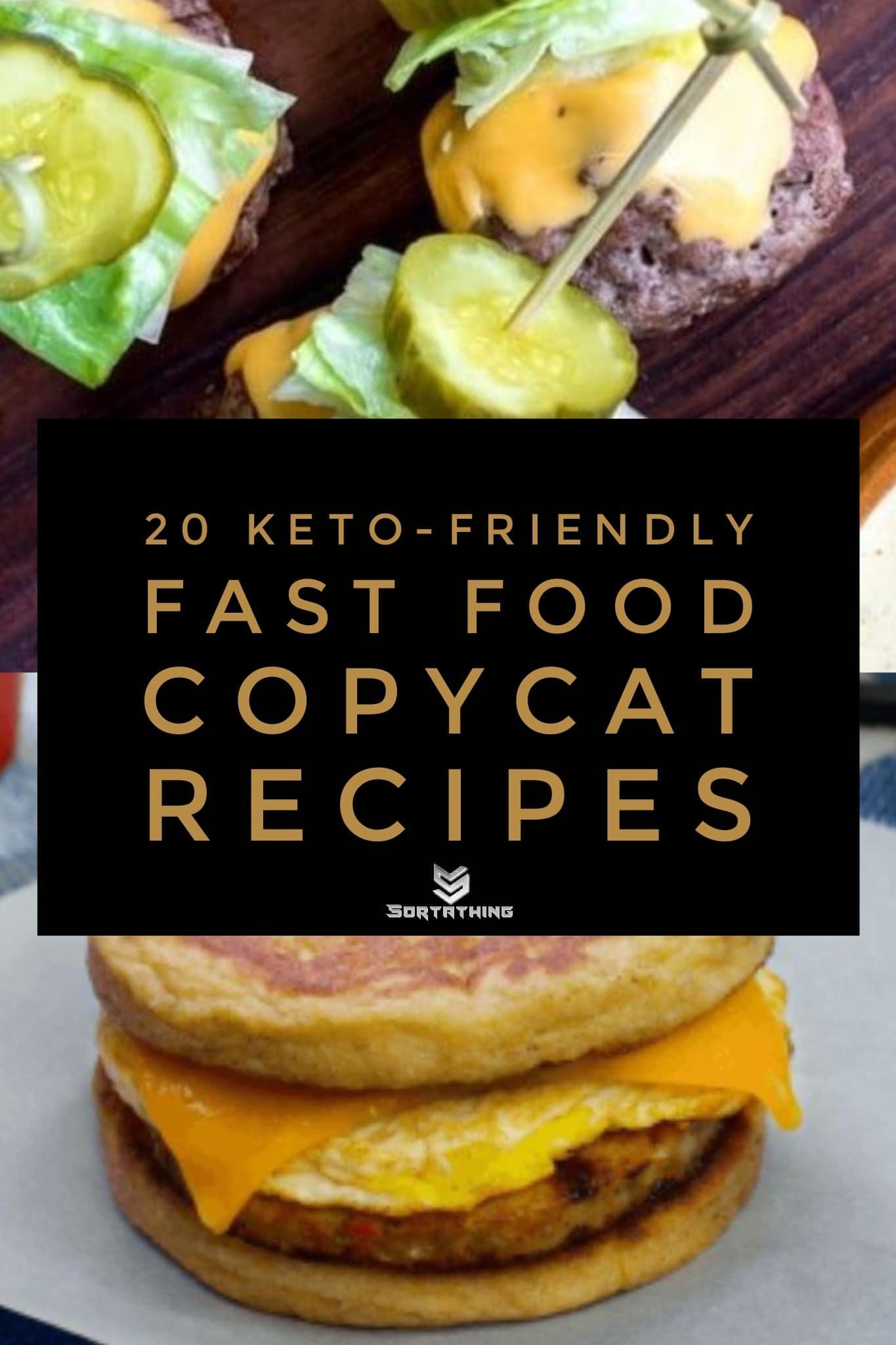 Keto Copycat Big Mac Bites & Sausage McGriddle
