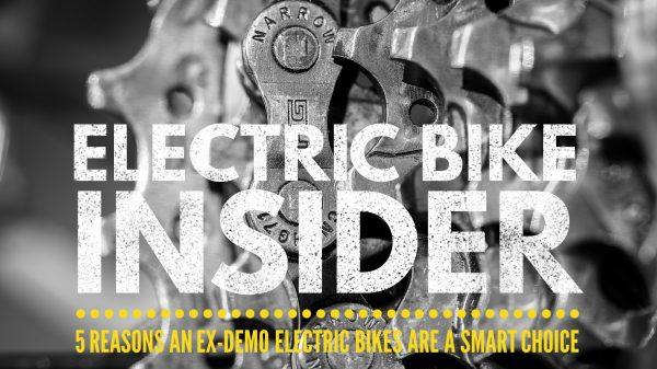 ex-demo electric bikes