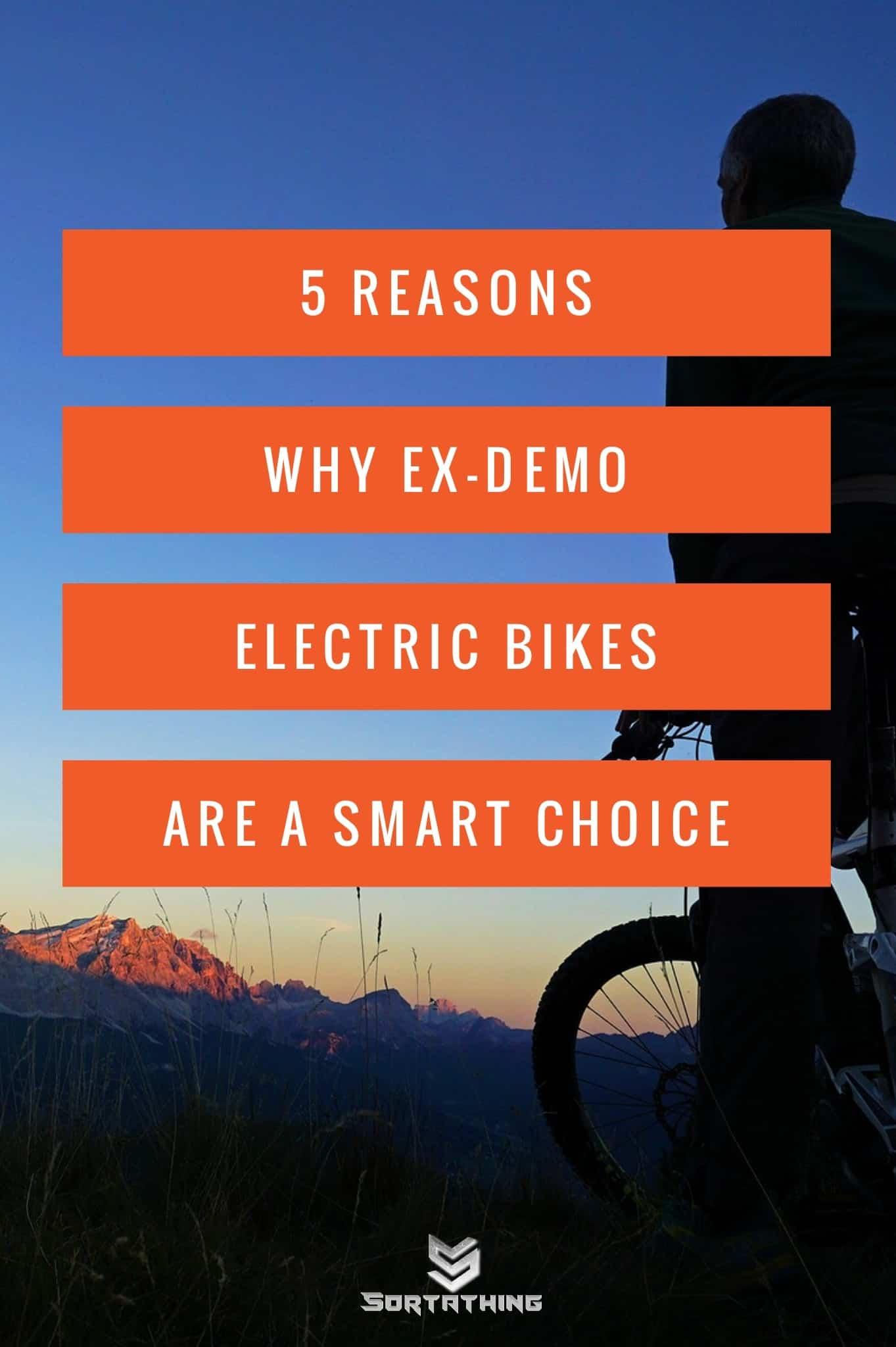 Ex Demo E-Bikes Ready to Ride