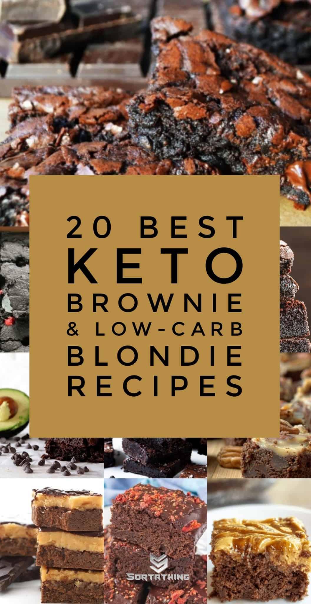 20 Best Keto Brownie & Low-Carb Blondie Recipes