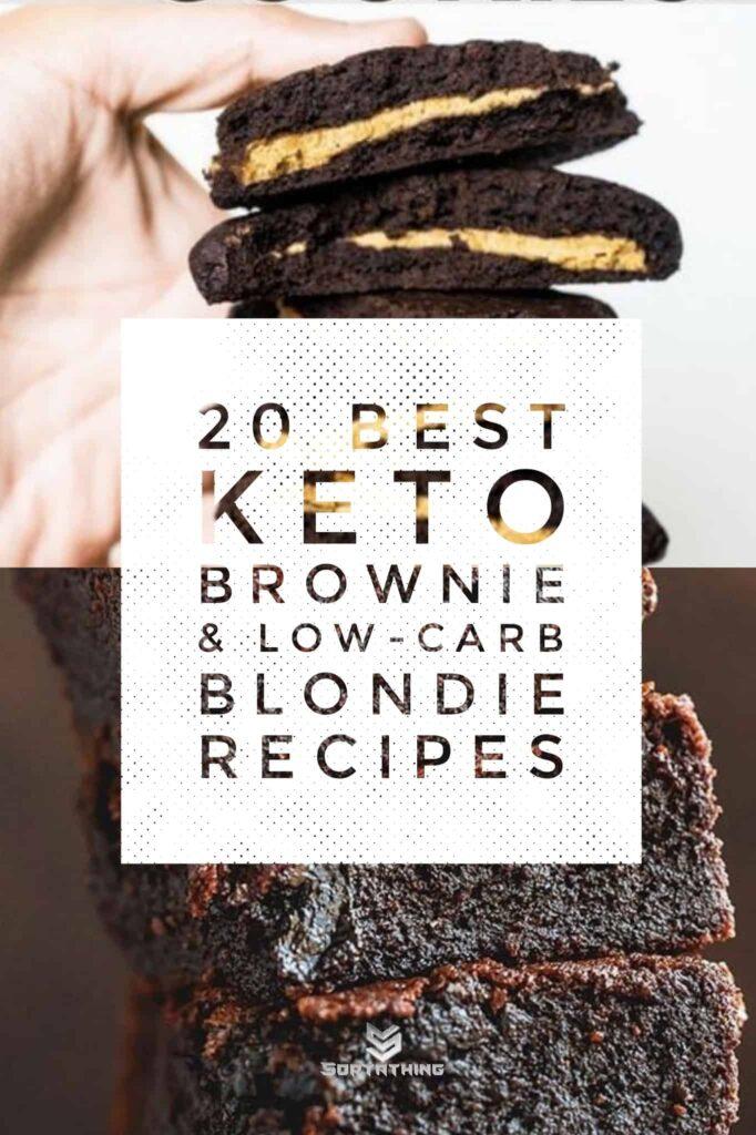 Peanut Butter Brownie Cookies & Super Fudgy Brownies