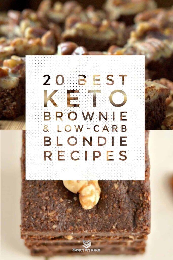 Low Carb Praline Brownies & No-Bake Maca Brownies