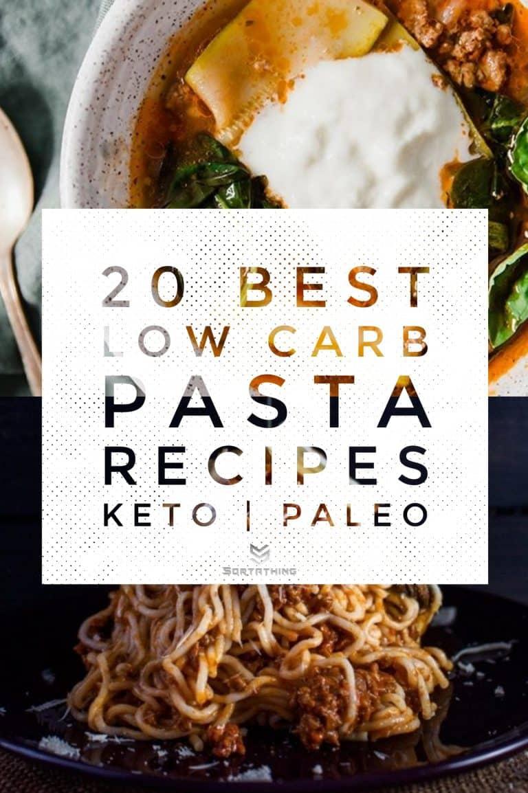 Paleo Lasagna Soup & Keto Bolognese