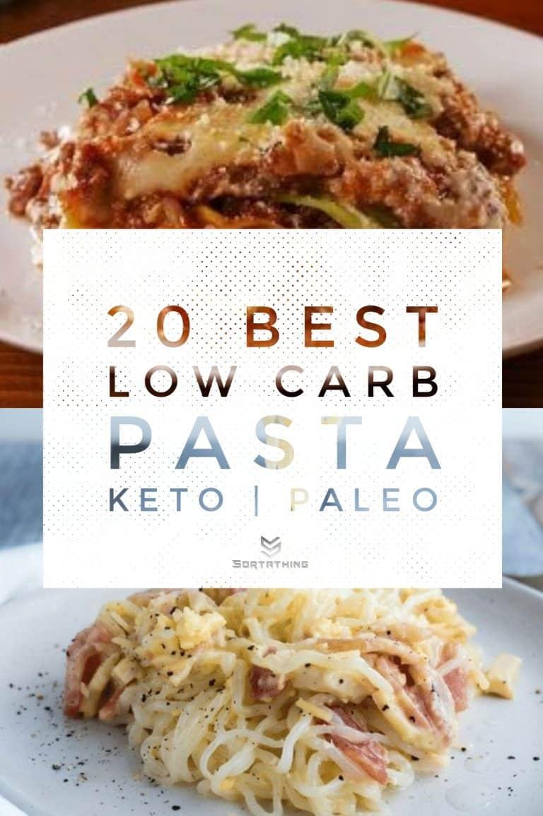 Cabbage Lasagna & Keto Carbonara with Konjac Noodles