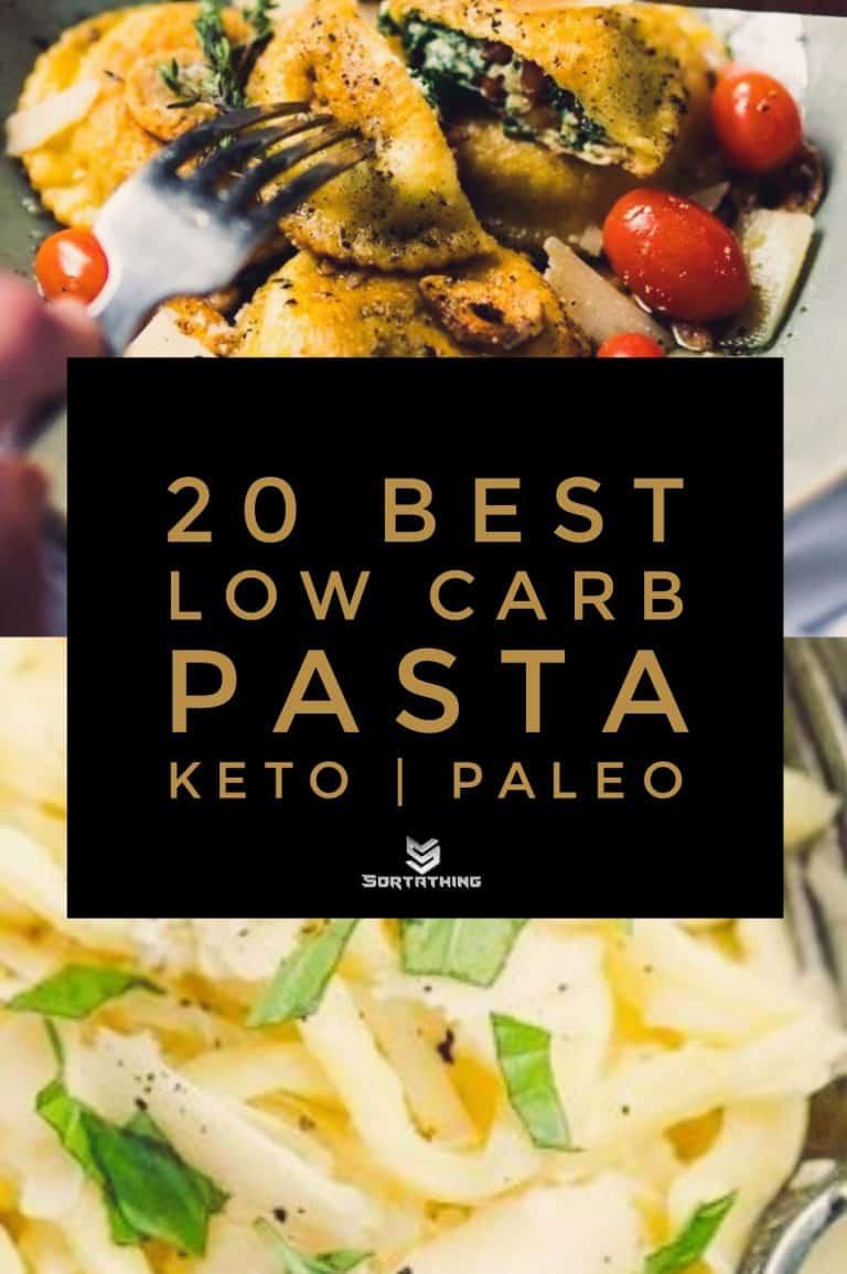 Low Carb Ravioli & 2-Ingredient Keto Pasta