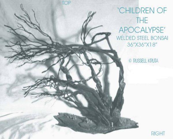 """Children Of The Apocalypse"" - Original Artwork by Russell Kruta"