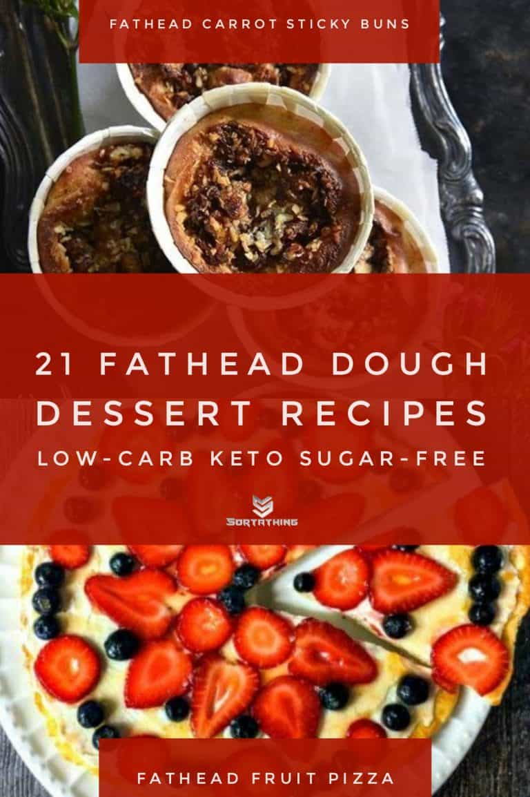 Fathead Carrot Cake Sticky Buns & Low-Carb Fruit Pizza