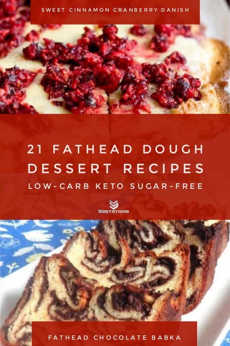 Fathead Sweet Cinnamon Cranberry Danish & Chocolate Babka