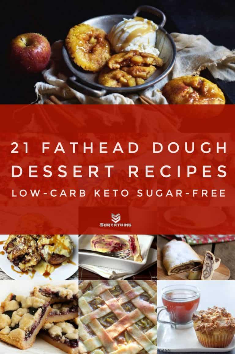 21 Fathead Dough Dessert Recipes | Low-Carb Keto Sugar-Free