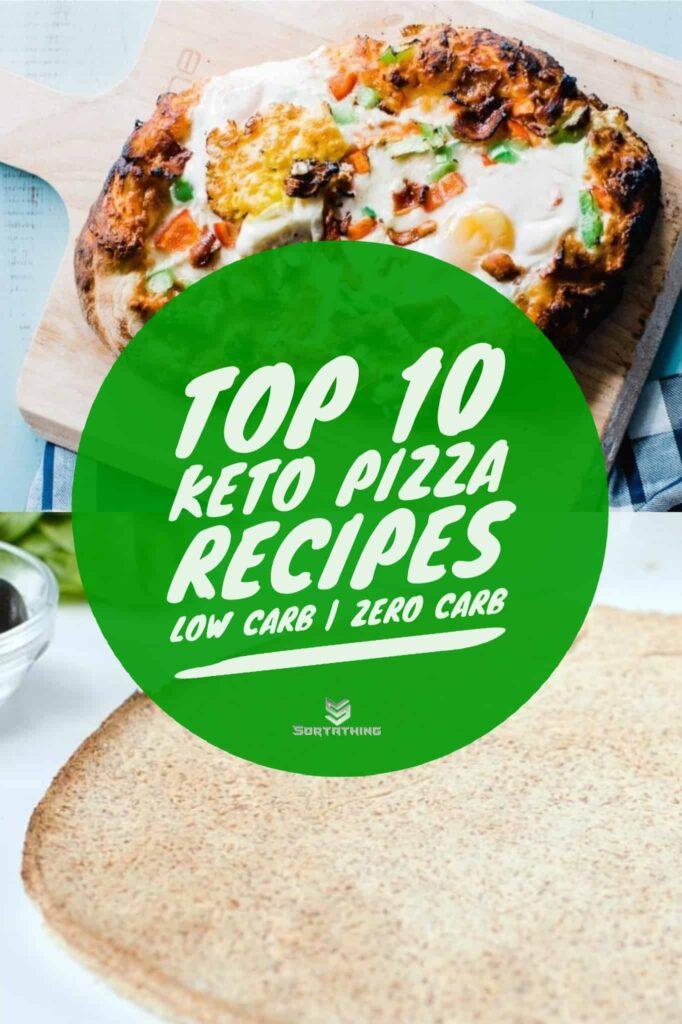 Denver Omelette Breakfast Pizza & Keto Coconut Flour Pizza Crust