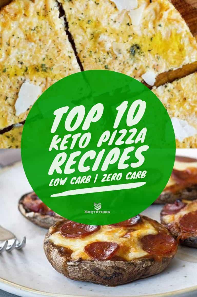 Chicken Crust Pizza & Keto Mushroom Mini Pizzas