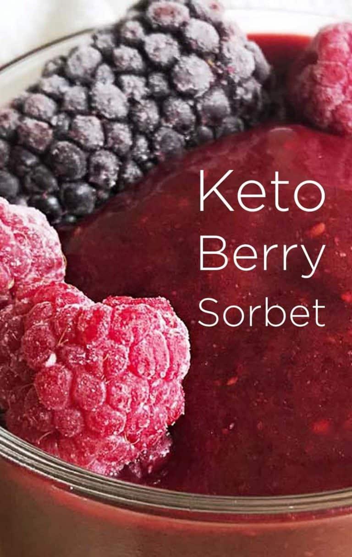 Keto Berry Sorbet