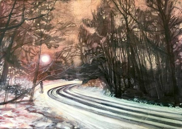 """""""A Bend in the Road"""" - Open Edition Print by Lara Cobden"""