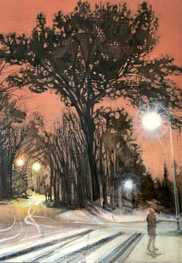 """""""A Fork in the Road"""" - Open Edition Print by Lara Cobden"""