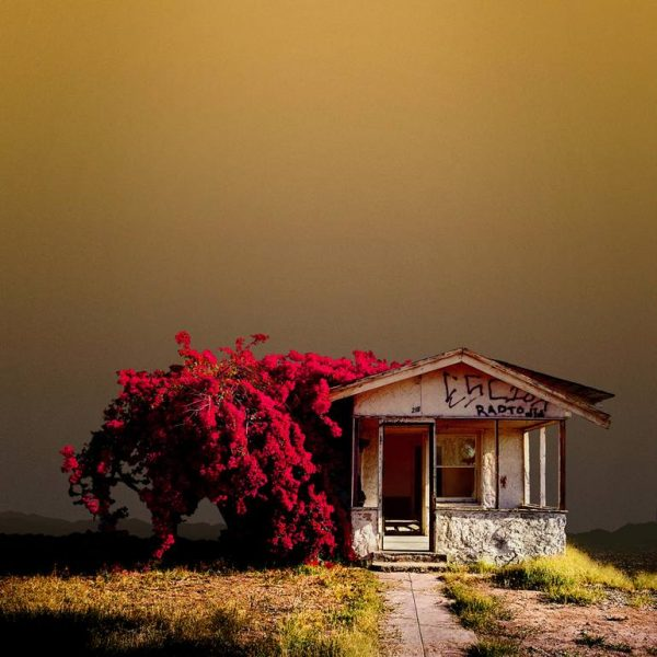 """Abandoned House, Niland CA - Edition of 9"" - Original Artwork by Ed Freeman"