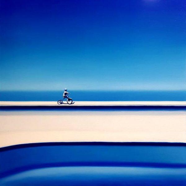 """""""Blue"""" - Original Artwork by Hugo Pondz"""