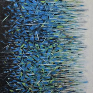 """Blue"" - Original Artwork by Roberto Yonkov"