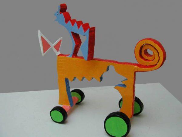 """""""Cart"""" - Original Artwork by Frans Muhren"""