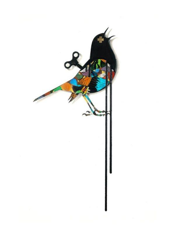 """""""Clockwork Bird: FLY"""" - Original Artwork by VeeBee VeeBee"""